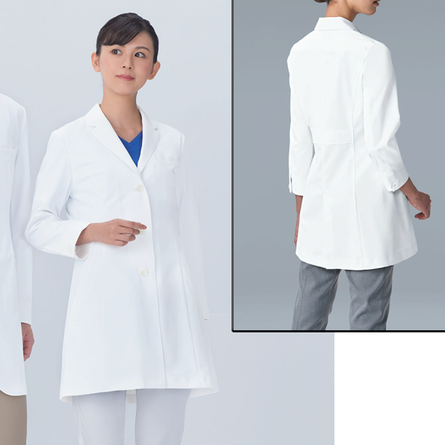 KAZEN(カゼン) KZN127-40 レディス診察衣
