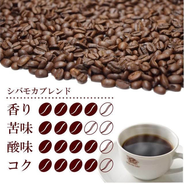 シバモカブレンド味覚表