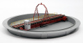 Nゲージ ターンテーブル 上路式 小樽築港
