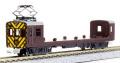 プラシリーズ Nゲージ クモヤ22 コンテナ運搬車