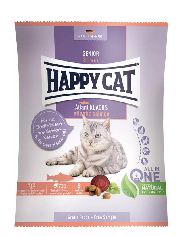 HAPPY CAT シニア アトランティック サーモン 50g 【ネコポス可】