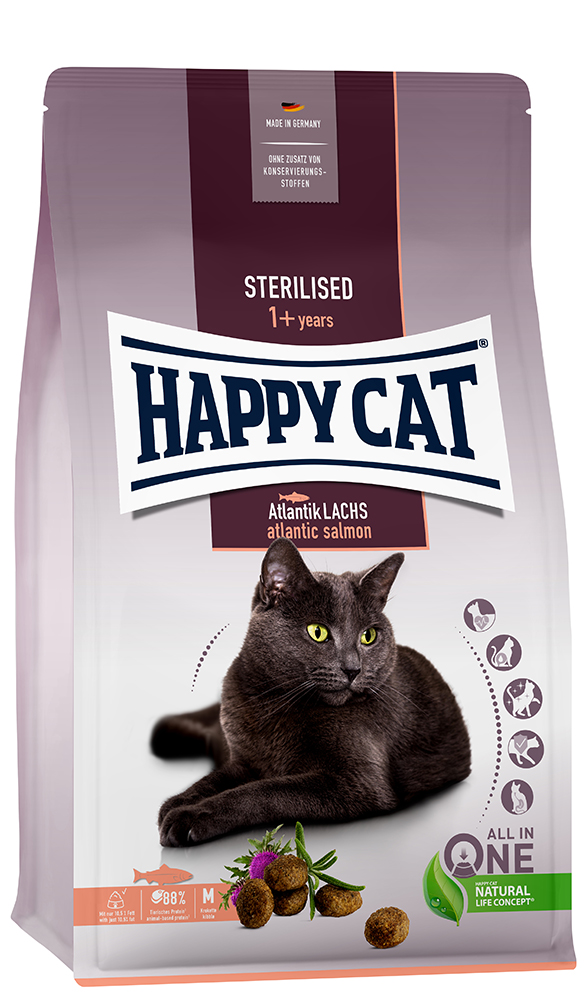 HAPPY CAT ステアライズド(避妊去勢) 300g