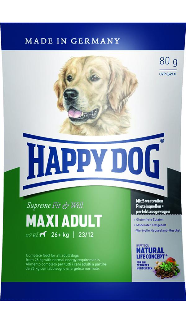 HAPPY DOG マキシ アダルト - 80g 【ネコポス可】