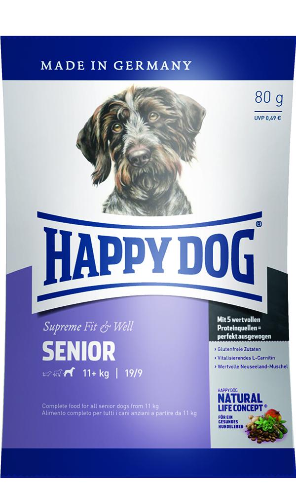 HAPPY DOG シニア - 80g 【ネコポス可】