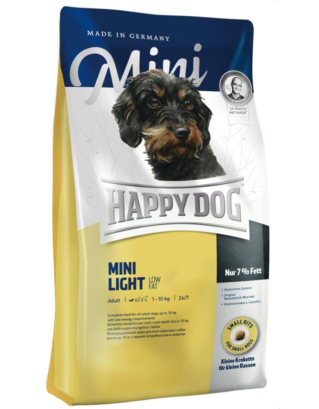 HAPPY DOG ミニ ライト(低脂肪) - 300g