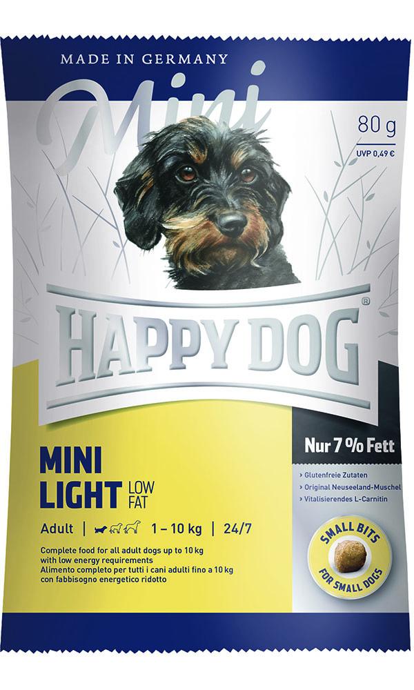 HAPPY DOG ミニ ライト(低脂肪) - 80g 【ネコポス可】
