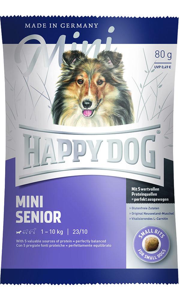 HAPPY DOG ミニ シニア - 80g 【ネコポス可】