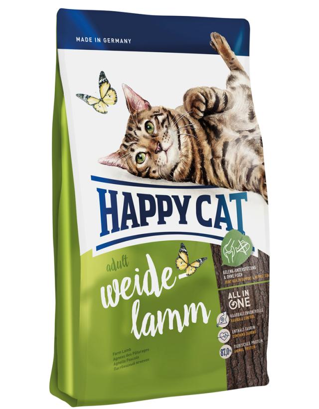 HAPPY CAT ワイデ ラム(牧畜のラム) - 300g