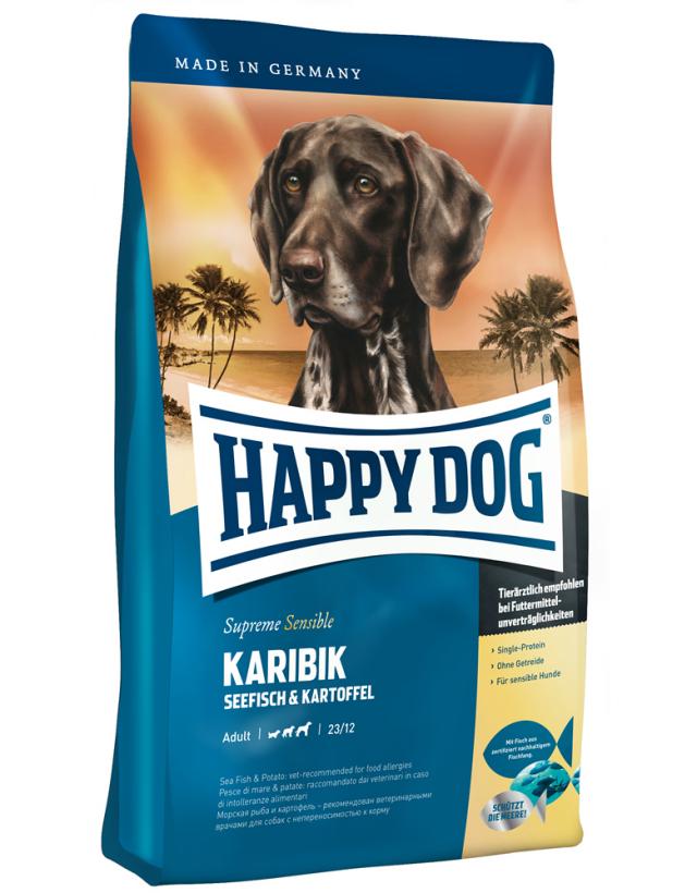 HAPPY DOG カリビック(シーフィッシュ)アレルギーケア - 1kg