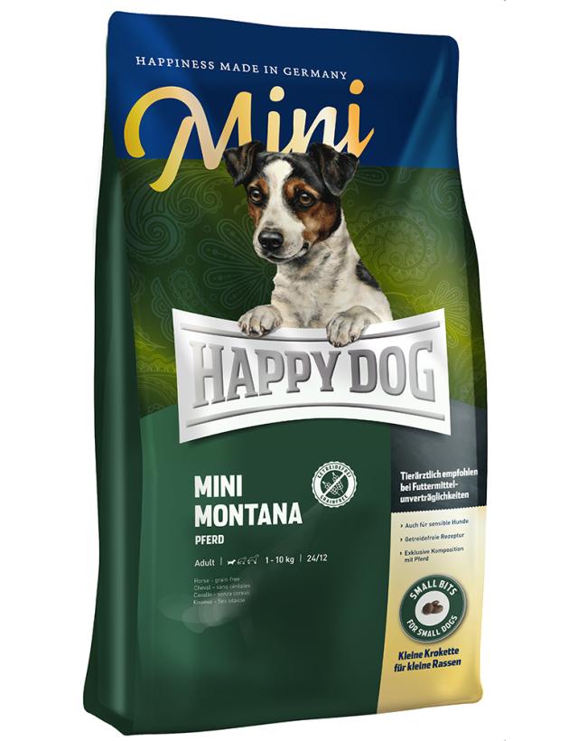 HAPPY DOG ミニ モンタナ(馬肉)グレインフリー - 300g