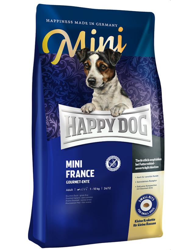 HAPPY DOG ミニ フランス(鴨肉)グレインフリー - 300g