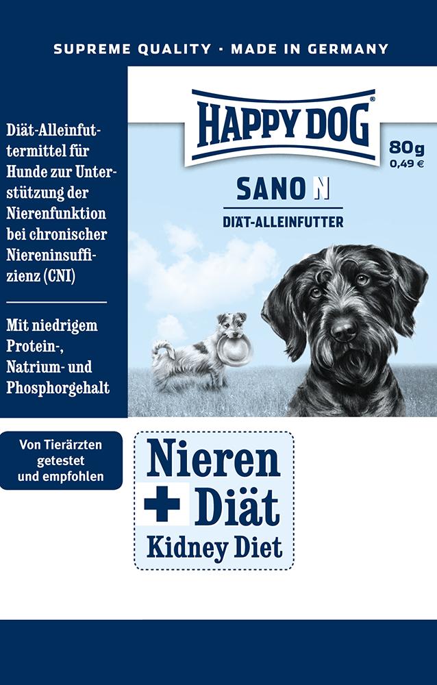 HAPPY DOG サノN - 80g 【ネコポス可】