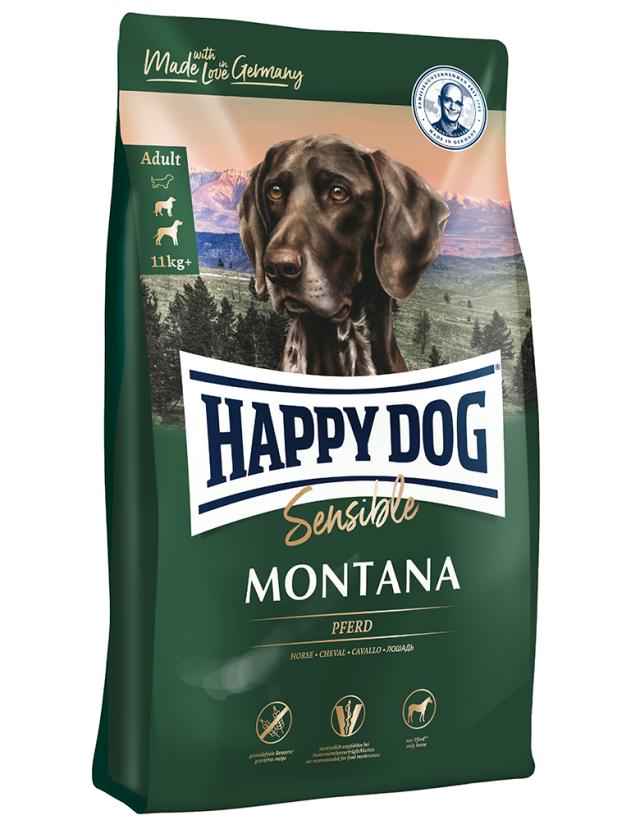 HAPPY DOG モンタナ(馬肉)グレインフリー - 1kg