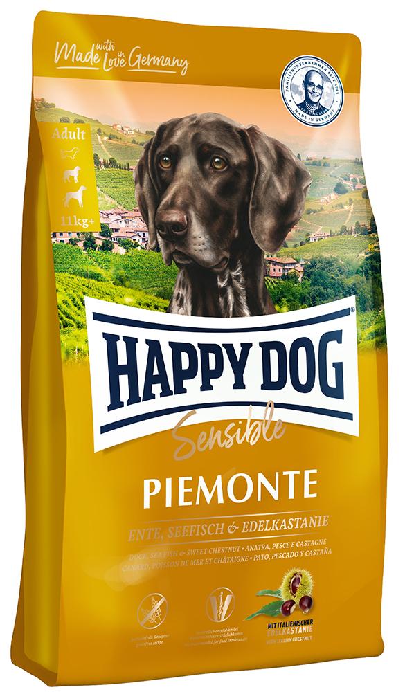 HAPPY DOG ピエモンテ(栗、ダック&シーフィッシュ)グレインフリー - 1kg