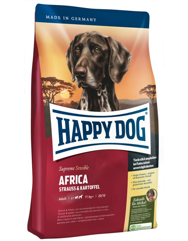 HAPPY DOG アフリカ(ダチョウ)アレルギーケア - 1kg