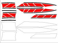 新シグナスx用 ストロボステッカー6
