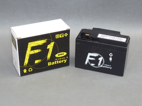 F1 YTR4A-5/YTR4A-BS/FTR4A-BS/GTR4A-5 互換バッテリー FTR4A-5