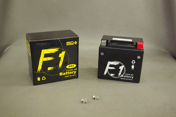 F1 YTX5L-BS/GTX5L-BS/互換バッテリー FTX5L-BS