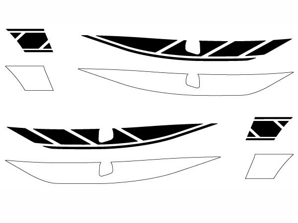 シグナスX SR(SEA5J)専用ストロボステッカー