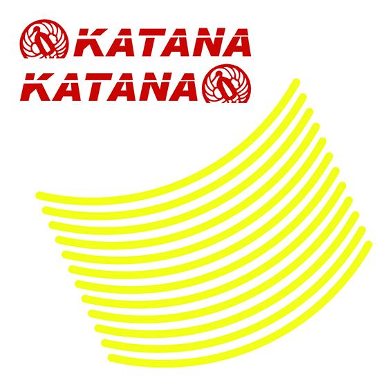 カタナ用リムステッカー