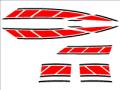 新シグナスx用ストロボステッカー7 二色