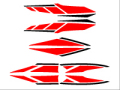 新シグナスx用ストロボステッカー8 二色