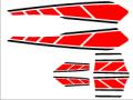 BW'S125用 ストロボステッカー1 二色