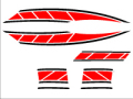旧シグナスx用 ストロボステッカー1 二色