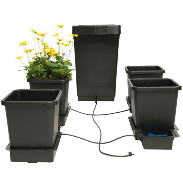Auto pot-4pots(オートポット 4鉢セット)