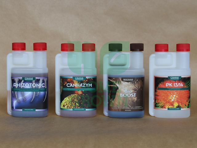 250ml 活力剤フルセット(土耕、ココ栽培用)