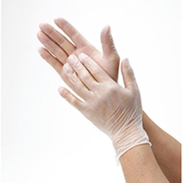 ビニール 極うす手袋 5セット(10枚入り)