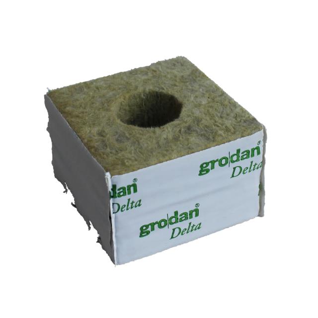 RockWool pot delta(ロックウールポットデルタ)6.5G 10個入り