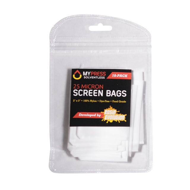 MYPRESS SOLVENTLESS Press Screen Bag 25micron プレススクリーンバッグ 10袋入り