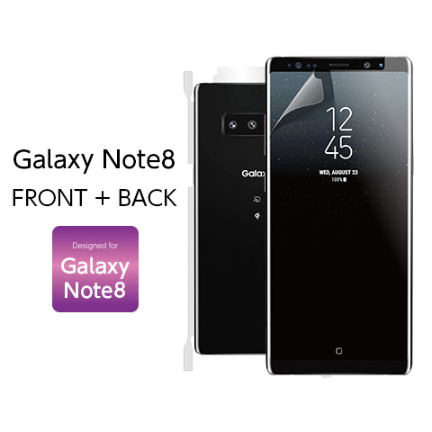 Galaxy note 8 FRONT+BACK Designed for Galaxy note 8