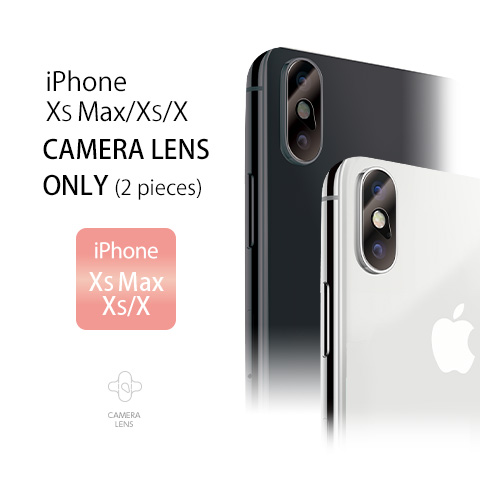 iPhone XS/X CAMERA LENS ONLY(2pieces) iPhone XS Max/XS/X