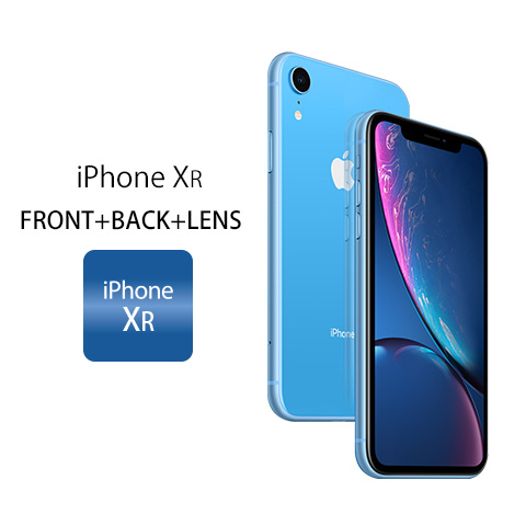 iPhone XR FRONT+BACK+LENS iPhone XR