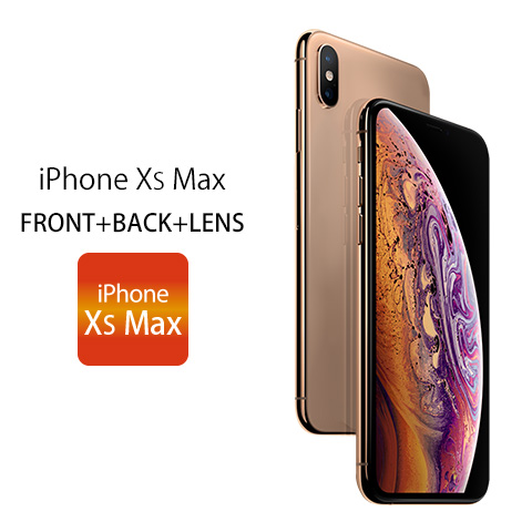 iPhone XS Max FRONT+BACK+LENS iPhone XS Max