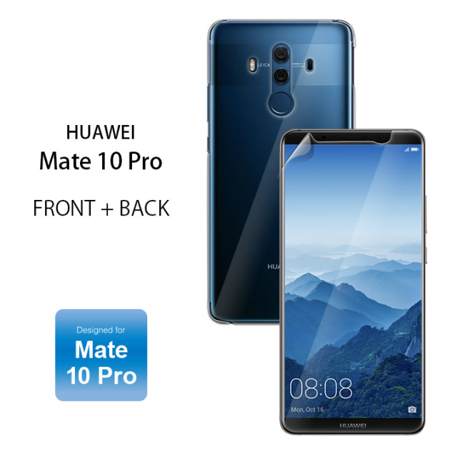 HUAWEI Mate 10 Pro FRONT+BACK Designed for Mate 10 Pro