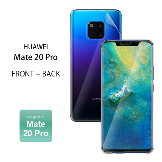 HUAWEI Mate 20 Pro FRONT+BACK Designed for Mate 20 Pro