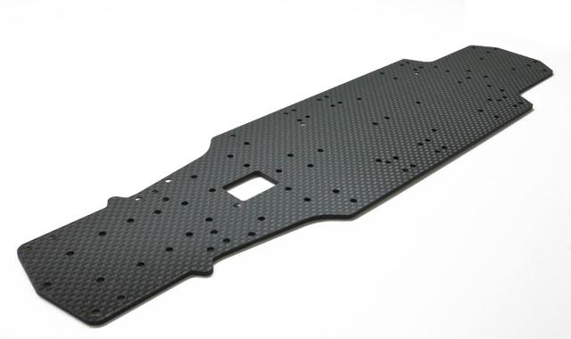 V3.0グラファイトメインシャーシ(2.0mmブラックカーボン)
