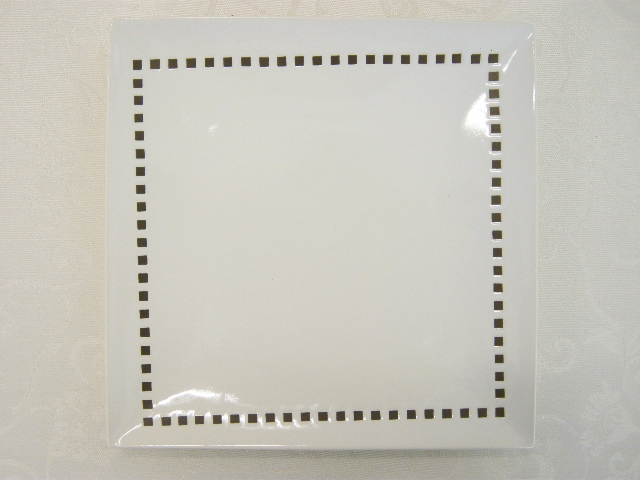 Square plate ?New York?