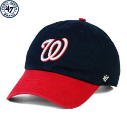 Majestic MLB Washington Nationals On-Field Team Icon Tee