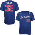 NBA ブレイク・グリフィン Tシャツ(ブルー) adidas Los Angeles Clippers Blake Griffin Game Time T-Shirt