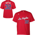 NBA ブレイク・グリフィン Tシャツ(レッド) adidas Los Angeles Clippers Blake Griffin Game Time T-Shirt
