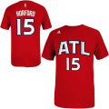 NBA アル・ホーフォード Tシャツ(レッド) adidas Atlanta Hawks Al Horford Red Game Time T-Shirt