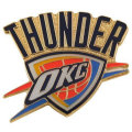 NBA チームロゴ ピンバッジ サンダー Oklahoma City Thunder Team Logo Pin