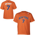 NBA カーメロ・アンソニー Tシャツ(オレンジ)ニックス adidas New York Knicks Carmelo Anthony Orange Game Time T-Shirt