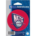 NBAチームロゴステッカー ネッツ(A) New Jersey Nets Vinyl Decal (A)
