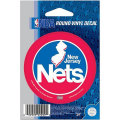 NBAチームロゴステッカー ネッツ(B) New Jersey Nets Vinyl Decal (B)