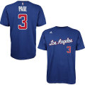 NBA クリス・ポール Tシャツ(ブルー)クリッパーズ adidas Los Angeles Clippers Chris Paul Blue Game Time T-Shirt